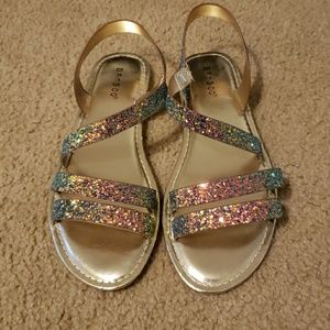 The sparkly mermaid sandals of your dreams